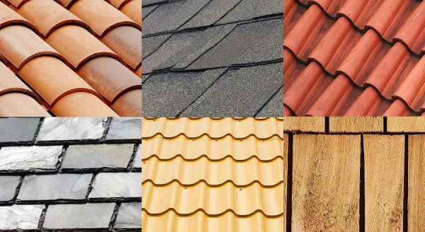 Types Of All Roofing Materials